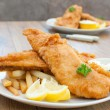 Fish and chips — Stock Photo #8597107