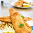 Fish and chips — Stock Photo #8597152