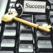 Key to success — Stock Photo #8597312