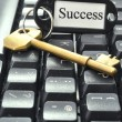 Stock Photo: Key to success