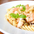 Pasta seafood — Stock Photo