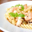 Pasta seafood - Stock Photo