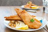 Fish and chips — Foto de Stock