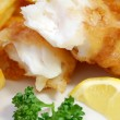 Fish and chips — Stock Photo #8638382
