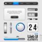 Web UI Elements Design — Stock Vector #8421485