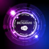 Dark Round Background — Stock Vector