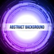 Round Abstract Background Dark Blue Violet — Stock Vector