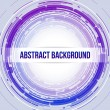 Round Abstract Background Light Blue Violet — Stock Vector