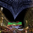 Regent Street Christmas Lights in London — Stock Photo #7963737
