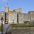 Dover Castle in Kent - Stock Photo