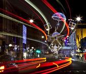 Oxford Street Christmas Lights in London — Stock Photo