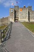 Dover Castle in Kent — Stock Photo