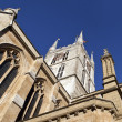 Looking up at Southwark Cathedral — Photo