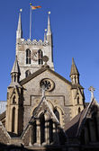 Southwark Cathedral in London — Stock Photo