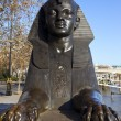 Sphinx on London Embankment — Stock Photo #8532873