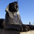 Sphinx on London Embankment — Stock Photo #8533287
