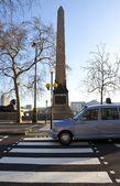 Cleopatra's Needle on London Embankment — Stock Photo