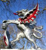 Der londoner statue — Stockfoto