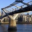 St. Paul's and the Millennium Bridge — Stock Photo #8563445