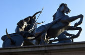 Boudica Statue in Westminster — Stock Photo