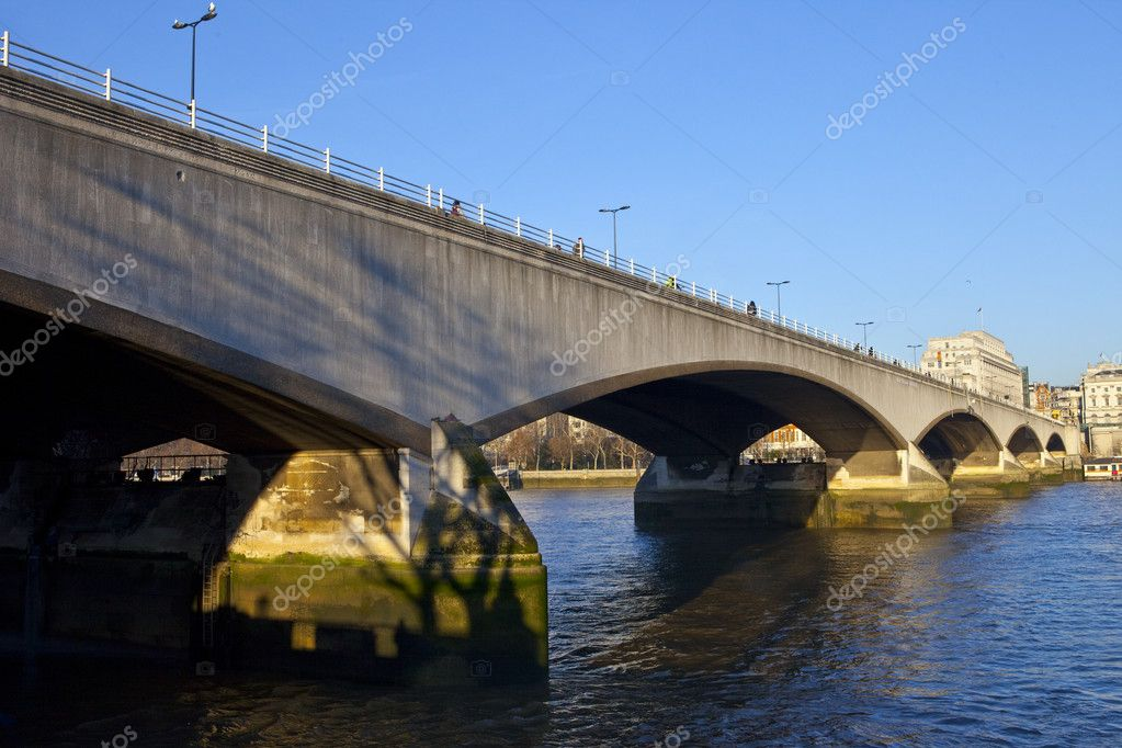 Waterloo Bridge in London. — Stock Photo #8563532