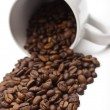 Coffee Beans and Mug — Stock Photo