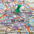Berlin Map — Stock Photo