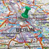 Mapa de berlim — Foto Stock