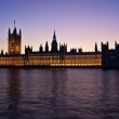 Houses of Parliament at Sunset — Stock Photo