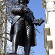Robert Raikes Statue in London — Stock Photo