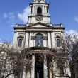 Stock Photo: St Mary Le Strand in London