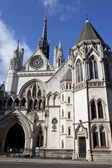 The Royal Courts of Justice in London — Стоковое фото