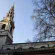 Stock Photo: St. Brides Church in Fleet Street, London