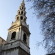 Stock Photo: St. Bride's Church in Fleet Street, London