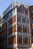 Publishing Buildings on Fleet Street in London — Stok fotoğraf