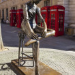 Ballerina Statue in London — Stock Photo