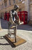 Statua ballerina a londra — Foto Stock