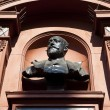 Bust of Sir Augustus Harris at the Theatre Royal Drury Lane — Foto Stock