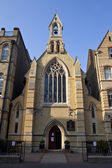 Church of St. Monica's Priory in Hoxton, London — Stock Photo