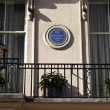 Stock Photo: Napoleon Plaque in London