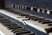 Old organ — Stock Photo