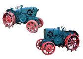 Old tractors — Stock Photo