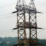 Rusted Electricity Pylon — Stock Photo #10531739