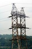 Rusted Electricity Pylon — Stock Photo