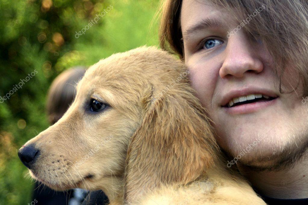 depositphotos 10531775 Teen Boy And Golden Puppy 1 Hentai Movies
