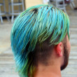 Dyed Hair Man — Stockfoto