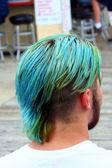 Dyed Hair Man — Stock Photo