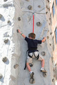 Rock climbing 1 — Stock Photo