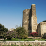 Maidens tower in baku azerbaijan — Stock Photo #10398616