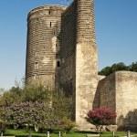 Maidens tower in baku azerbaijan — Stock Photo #10398625